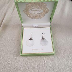 Annika Witt Sterling Silver Bali Shell Earrings